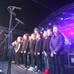 Camberley Christmas Lights Switch On